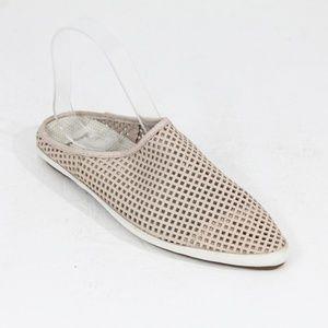 Sanuk Flats Women Mule Slip on Shoe Leather Slide